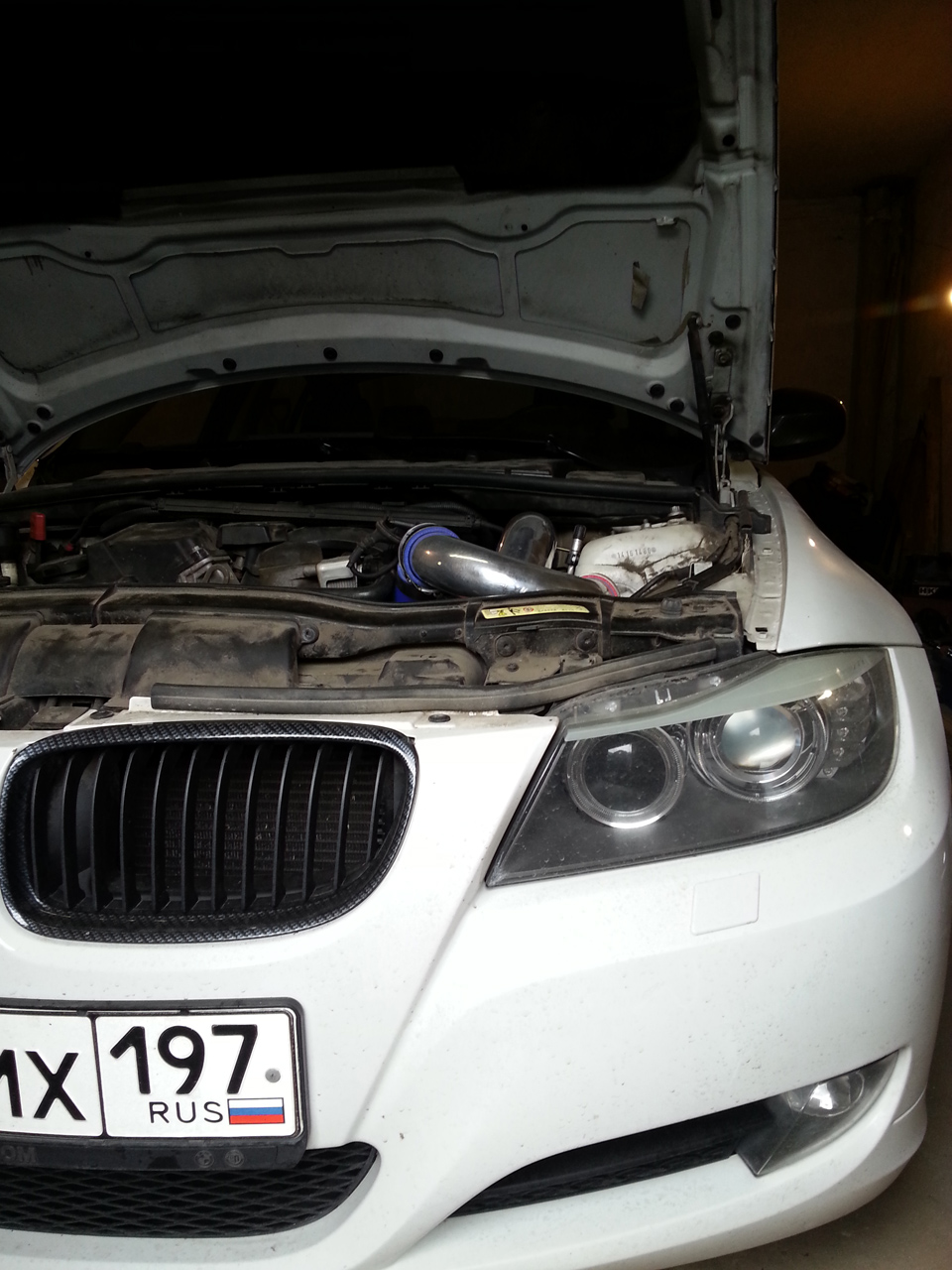 Crazy avto bmw e90 n46