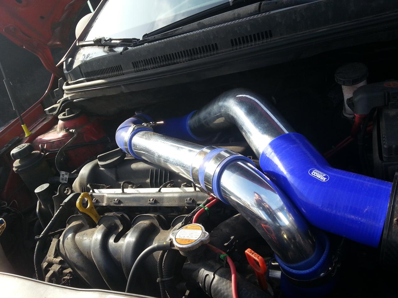 как увеличить мощность двигателя киа рио 1.6